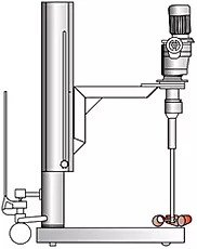 Floor Mounted Column Mixer